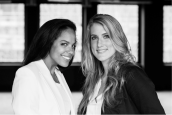 Ikena Carreira and Tamaryn White